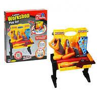 """Чемодан-столик для инструментов """"Верстак"""", набор инструментов детских,игрушки для мальчиков,игровые наборы"""