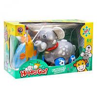"""Слоник на радиоуправлении """"Happy Go!"""", YU DA, роботы,радиоуправляемые игрушки,интерактивная игрушка"""