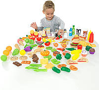 Великий набір продуктів і їжі KidKraft 30Pc Pretend Play Food Set Playset