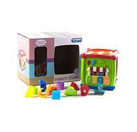 """Интерактивный сортер-куб """"Fancy Cube"""", интерактивная игрушка,детские игрушки,подарки детям,игрушки для детей"""