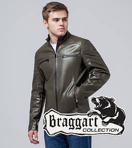 Braggart Youth | Куртка экокожа 3645 хаки