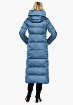 Воздуховик Braggart Angel's Fluff 31056 | Зимняя женская куртка аквамариновая, фото 3