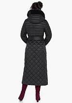 Воздуховик Braggart Angel's Fluff 31012 | Куртка женская на зиму черная, фото 3