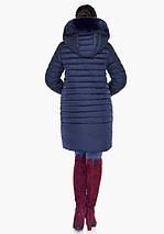 Воздуховик Braggart Angel's Fluff 31038 | Куртка зимняя женская синяя, фото 3