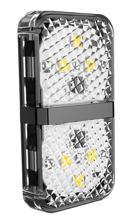 Дверная автомобильная лампа Baseus Warning Light 2 шт. Черный (CRFZD-01)