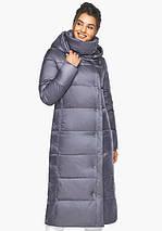 Воздуховик Braggart Angel's Fluff 41830  Теплая женская куртка жемчужно серая, фото 3