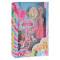 Кукла Ася с коляской и ребёнком, кукольный набор,куклы,наборы кукол,куклы для девочек