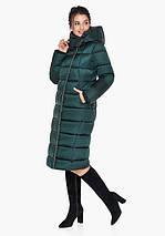 Воздуховик Braggart Angel's Fluff 31028| Зимняя теплая женская куртка изумрудная, фото 2