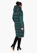Воздуховик Braggart Angel's Fluff 31028| Зимняя теплая женская куртка изумрудная, фото 3