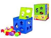 """Игрушка - сортер """"Кубик"""", игрушки для малышей,сотер,деревянные игрушки,деревянный конструктор"""