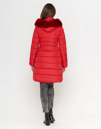 Tiger Force 1816 | Зимняя женская куртка красная  50 (L), фото 2