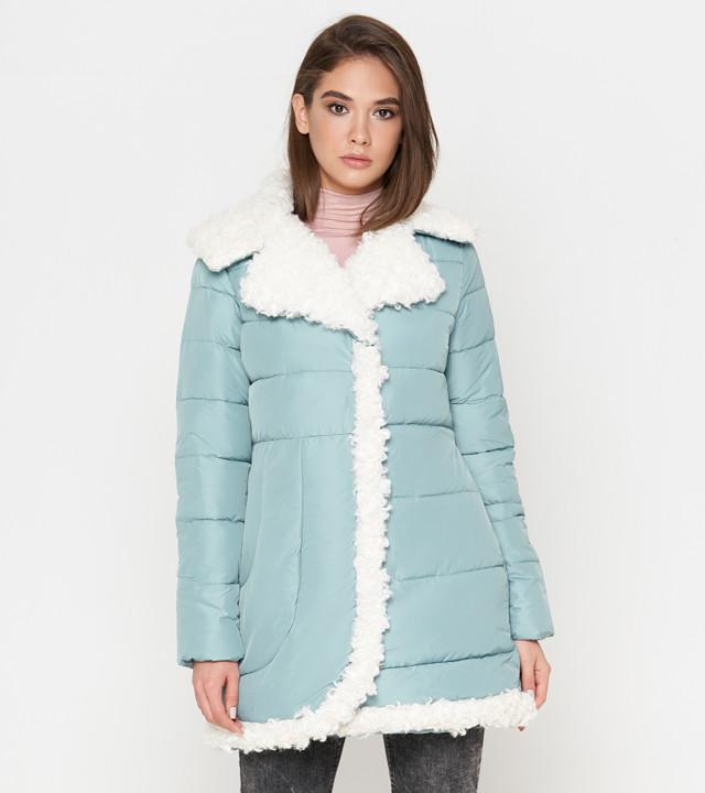 Tiger Force 2162   Зимняя женская куртка мята