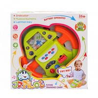 """Руль музыкальный """"Штурвал самолета"""", интерактивная игрушка,детские игрушки,подарки детям,игрушки для детей"""