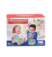 Конструктор магнитный, 20 элементов, магнитный конструктор,детские конструкторы,конструкторы для ребенка