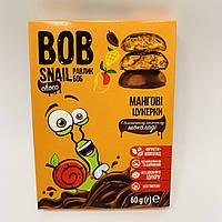 Натуральные конфеты Bob Snail Манго в бельгийском молочном шоколаде 60 г