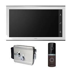 Комплект видеодомофона ARNY AVD-1030 2MPX + AVP-NG230 2MPX с электромеханическим замком ATIS Lock SS