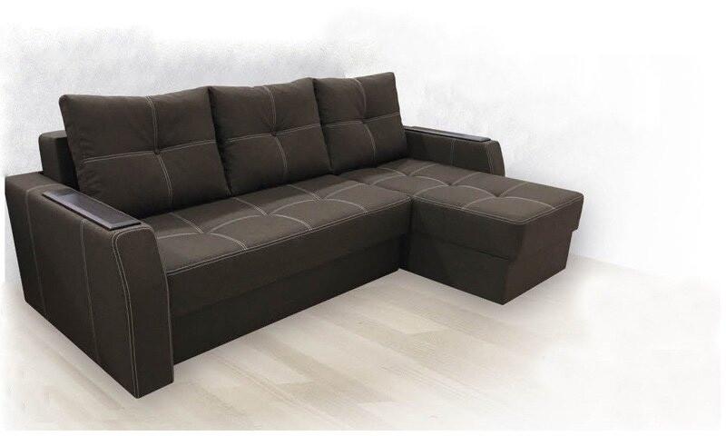 """Кутовий диван  """"Браво"""" від Вірконі 226см"""