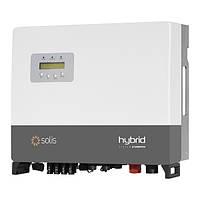 Солнечный гибридный инвертор Solis RHI-3P8K-HVES-5G (8 кВт, 3 фазы, 2 MPPT)