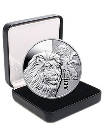 "Срібна монета НБУ ""Лев"", фото 2"