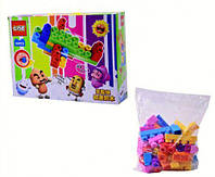Конструктор резиновый, 45 деталей, детские конструкторы,конструкторы для ребенка,конструкторы для малышей