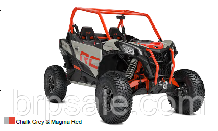 Maverick SPORT X RC 1000R Chalk Grey & Magma Red