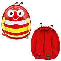 """Детский рюкзак """"Пчёлка"""" (красный), рюкзак,сумки,городской рюкзак,рюкзаки школьные"""