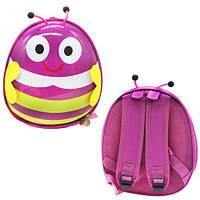"Детский рюкзак ""Пчёлка"" (розовый), рюкзак,сумки,городской рюкзак,рюкзаки школьные"
