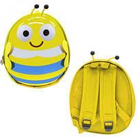 """Детский рюкзак """"Пчёлка"""" (жёлтый), рюкзак,сумки,городской рюкзак,рюкзаки школьные"""