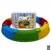 Песочница сборная, 8 деталей, Kinderway, детские игровые комплексы,игровой комплекс