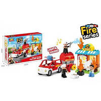 "Конструктор ""Fire Rescue"", 32 детали, JDLT, детские конструкторы,конструктор для мальчиков"