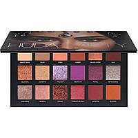 Палетка тіней для повік Huda Beauty Desert Dusk Eyeshadow Palette 18x1.4g (6291106031454), фото 1