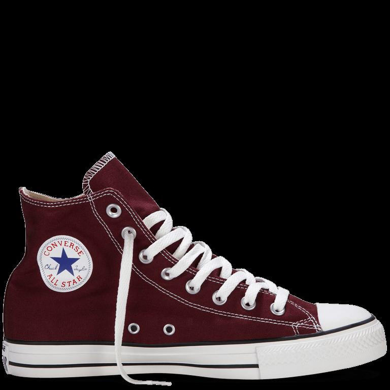 Кеды Converse All Star High высокие бордовые (Кеды Конверс бордовые мужские и женские размеры 35-44)