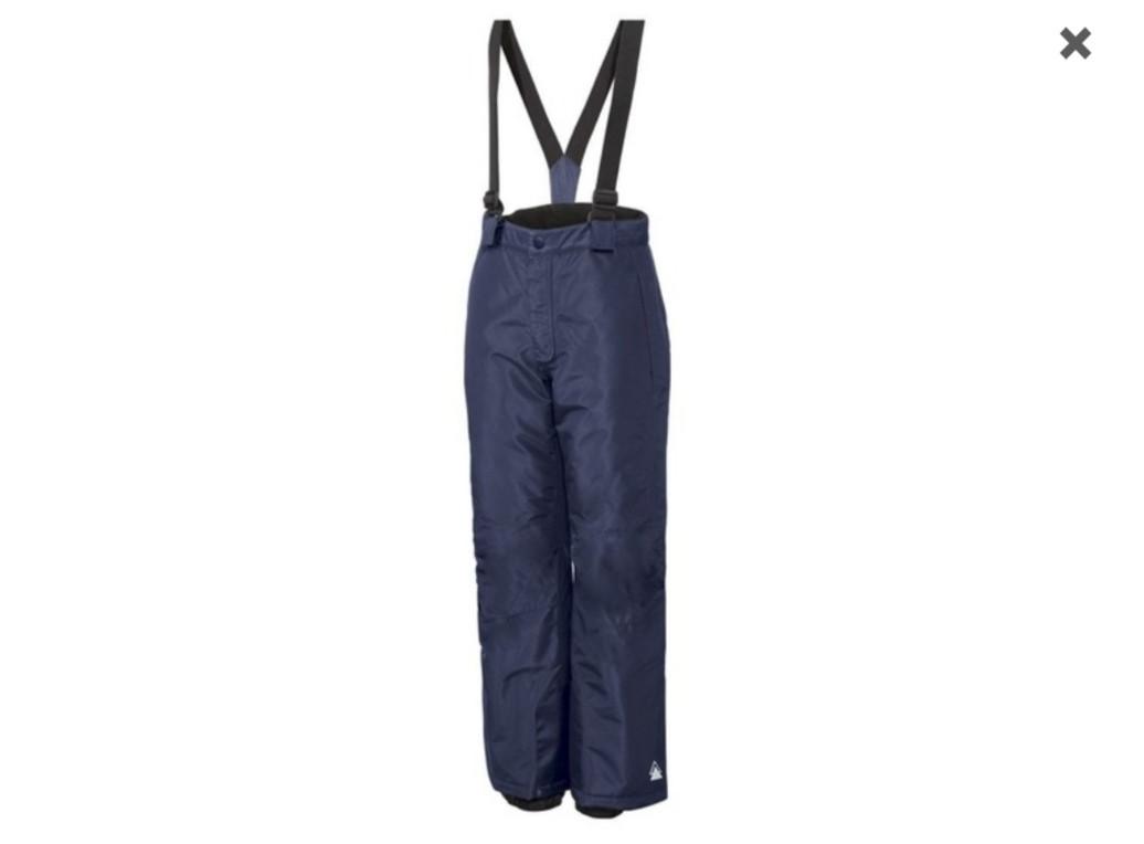 Зимние лыжные синие штаны CRIVIT PRO IAN314041-1901/11 р.158/164см