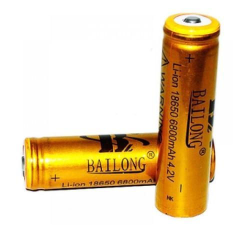 Батарейка BATTERY 18650 GOLD золотой