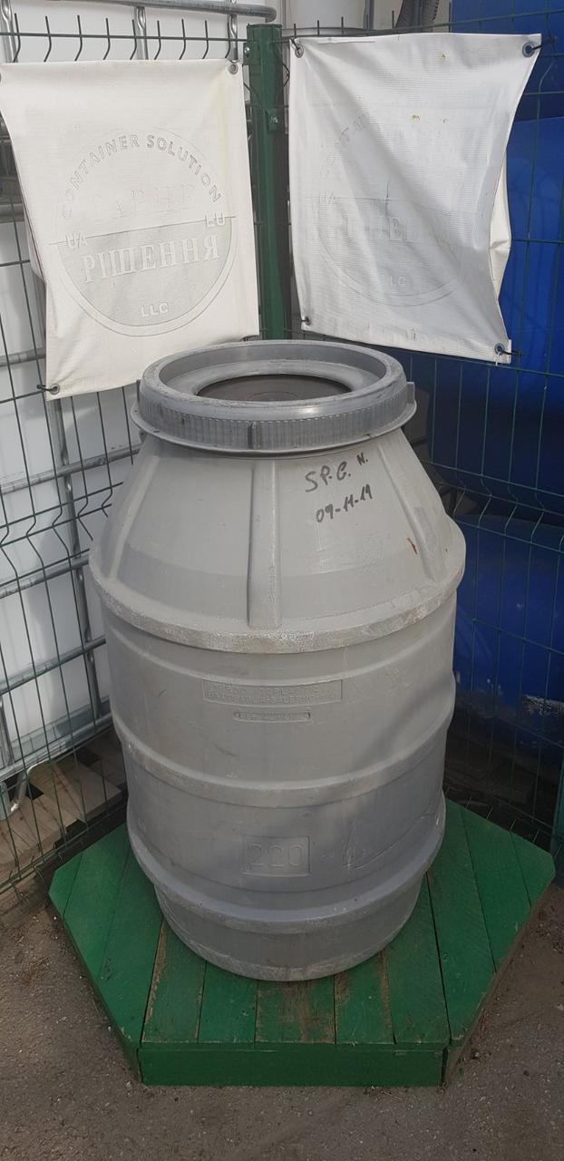 0243-03/1: З доставкою в Рівне ✦ Бочка (200 л. б/у пластикова
