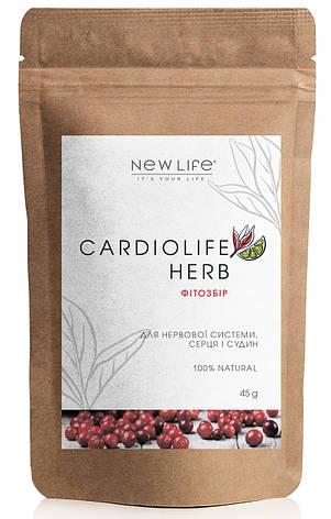 Фитосбор для нервной системы, сердца и сосудов - Cardiolife Herb, фото 2