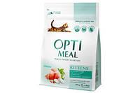 Сухой корм Optimeal (Оптимил) для котят с курицей, 4 кг