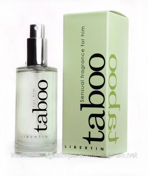 Taboo for Him Феромоны для мужчин соблазняют женщин Духи с Феромонами Франция 50мл. Действуй