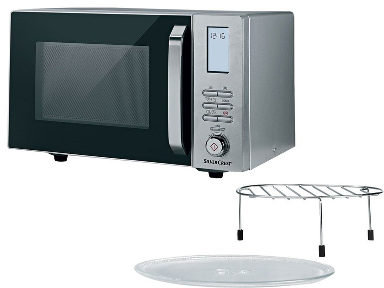 Микроволновая печь с грилем SILVERCREST® 1000 Вт 01503