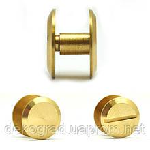 Винты для кольцевых механизмов Золото 6мм