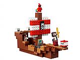 Конструктор 11170  My World Приключения на пиратском корабле, 404 детали, фото 4