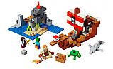 Конструктор 11170  My World Приключения на пиратском корабле, 404 детали, фото 10