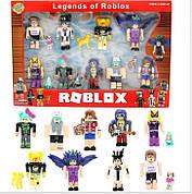 Коллекционные фигурки Роблокс с аксессуарами | Roblox Legends (9 человечков) PS 1831