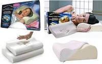 Ортопедическая подушка Comfort Memory Pillow с наволочкой, подушка с памятью