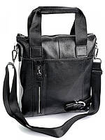 Мужская кожаная сумка 3634 Black Мужские кожаные сумки оптом  в Одессе 7 км, фото 1