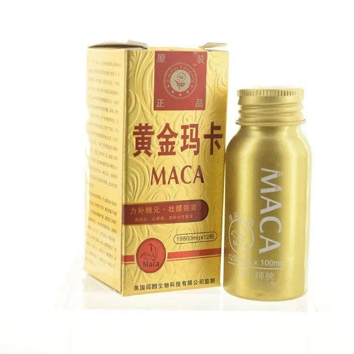 Для потенції Золота Мака - 12 таб.