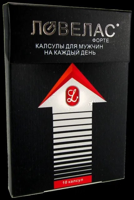 ЛОВЕЛАС - мужской препарат для потенции 10 шт. Оригинал