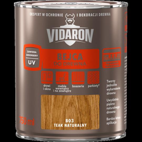 Бейц д/деревини Vidaron В03 натуральний тік 750 мл