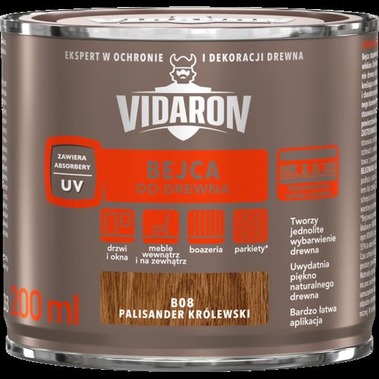 Бейц для древесины Vidaron В08 королевский палисандр 200 мл