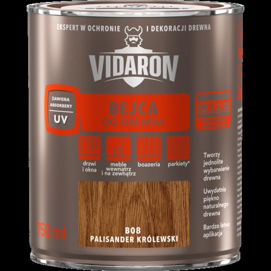 Бейц для древесины Vidaron В08 королевский палисандр 750 мл